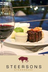 Steersons Steakhouse - superlative about steak.